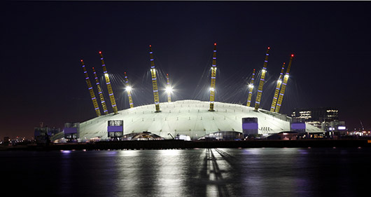 Events at the O2 Arena